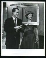 1950s TEX MCCRARY & JINX FALKENBURG Vintage Original Photo TALK SHOW INVENTOR gp
