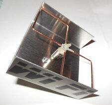 Stainless 17dBi biquad antenna  for Alfa 2H Ubiquiti Bullet M2HP 32 miles range