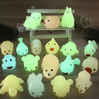 Novel Squishy Luminous Animal Squeeze Anti Stress Toy For Kids Gift Play -Random