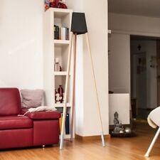 LICHT-TREND la3b 170 Lámpara de pie con patas madera roble / Negro /