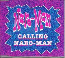 NARO-MAN - Calling Naro-man CDM 4TR Hardcore Breakbeat 1992 (Dance Factory)