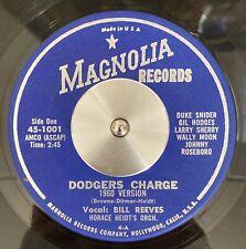 LA DODGERS Charge VIN SCULLY Gil Hodges Duke Snider Horace Heidt RARE 1960 45