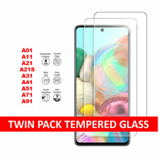 For Samsung Galaxy A21S A11 A01 A41 Film Tempered Glass Screen Protector Cover