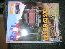 Rail Passion n°63 BB 63500 BB 61000 Re 482 de CFF Cargo Trouville-Dive-Cabourg