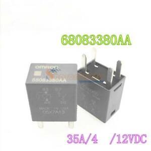 2PCS NEW Omron Automotive Relay 4 Pins 68083380AA 05X7A13