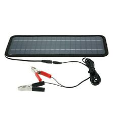 12V 4.5W Portable Solar Panel Power Car Universal Boat Battery Charger Back V6W2