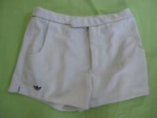 Short Adidas ventex Homme Tennis 80'S Vintage blanc trefoil ATP Retro - 90
