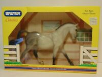 New In Box Vintage 1999 Classic Breyer Classics #642 Keen Dapple Grey Hanoverian