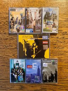 7 Sealed Oasis Cassettes Definitely Maybe What's The Story Familiar To Millions.