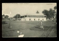 West Africa France Guinee CONAKRY La Douane Customs Faults PPC used 1914