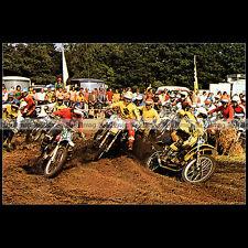 #CP33 JOËL ROBERT & GASTON RAHIER - Carte Postale Moto Cross Motorcycle Postcard