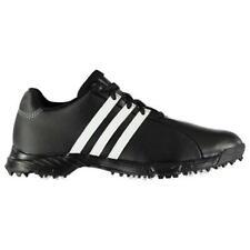 adidas GolfLite TR Wide Fit Mens Golf Shoes - Black/White - Q47035