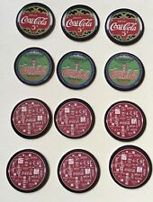 1993 Coca Cola Collect A Card Coke Caps POGS Series 1 QTY of 12