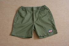 Vintage Boy Scouts of America Shorts Hiking Camping Trail Green 34-35