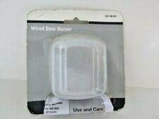 Wired Door Bell Buzzer Metal Silver Doorbell Hardware Home Goods
