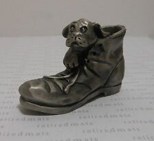 Vinage 1979 Hallmark Little Gallery NO ONE ELSE CAN FILL YOUR SHOES Figurine DOG