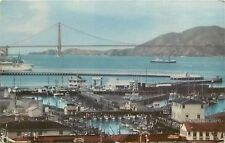 Union Oil Company Fisherman's Wharf San Francisco CA 76 Gasoline Postcard