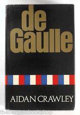 DE GAULLE Aidan Crawley (1969) - HARDBACK