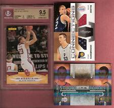BLAKE GRIFFIN TYLER HANSBROUGH 3 CARDS DUAL RC JERSEY & GEM MINT 9.5 ROOKIE +2RC