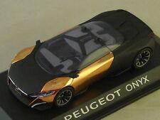 NOREV 473891 - PEUGEOT Concept Car Onyx - Salon de Paris 2012  1/43