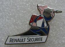 Pin's RENAULT Securité Le Technicien Couleur #1157