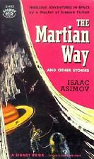 MARTIAN WAY & OTHER STORIES ~ ISAAC ASIMOV ~ VINTAGE PB ~ STATED 1st PRINTING