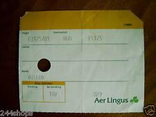 VINTAGE - AER LINGUS - BOARDING PASS - USED