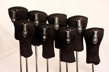 NEW PREMIUM NEOPRENE 3 - PW SET MENS COMPLETE ALL HYBRID GOLF CLUBS HEADCOVERS