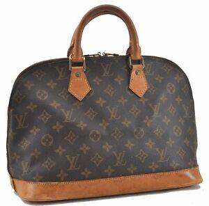 Authentic Louis Vuitton Monogram Alma Hand Bag M51130 LV D3907