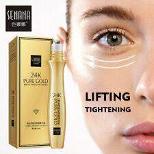 Eye Roll on 24K Gold Bright Eye Serum Anti Aging  Dark Circles Anti Puffiness