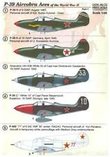 Print Scale Decals 1/48 BELL P-39 AIRACOBRA ACES OF WORLD WAR II Part 1