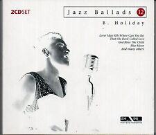 Doppel-CD! Billie Holiday - Jazz Ballads (2004, 45 Titel) Digipack, wie neu!