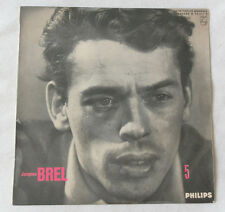 33 TOURS 25 cm JACQUES BREL N° 5 PHILIPS B 76.513 R