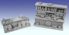 Scotia Grendel 25mm Miniature Apothecary's Shop works with Dwarven Forge