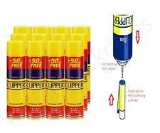 More details for 12 pack original clipper universal butane gas fuel fluid refill lighters 300ml