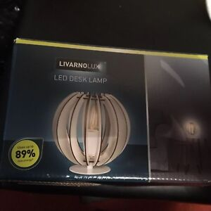 Mid Century Modern Look Livarno Lux LED Table Desk Lamp.BRAND NEW IN BOX.UK SALE