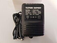 12V DC / 240 Volt AC 1A 1 Amp power supply adaptor