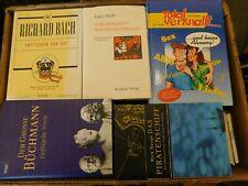 46 Bücher Hardcover Romane Sachbücher verschiedene Themen Paket 4