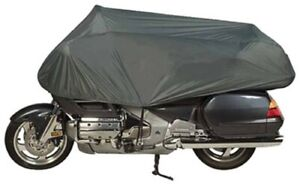 By Dowco - Travel Ready - Premium Motorcycle Half Cover - 2 Year Limited Warrant