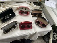 Lot Of 6  SUNGLASSES VTG Ray-Ban - Marc Jacobs - Camuto- Hahn