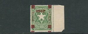 LIBERIA 1917 (Scott 160 overprinted stamp) VF MH *please read desc*