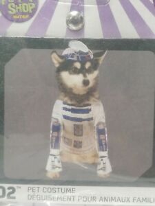 Disney Star Wars R2-D2 Pet Costume, Size Medium, Halloween Costume for Pets