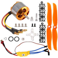 2200KV Brushless Motor 2212-6 +30A ESC + Mount for RC Copter Helicopter Aircraft