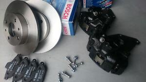 Fiat 126 Front brake Disc Conversion Kit BOSCH 4x98 PCD
