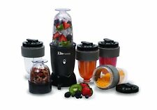 17-Piece Mini Bullet Blender Shakes Smoothies Power Mixer Grinder Chopper Set