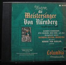 Wagner, Karajan - Die Meistersinger Von Nürnberg 5 LP VG+ SL-117 1st 1951 Record