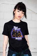 Official Morado Oscuro Negro Noche Japón Unisex Camiseta California Jamming