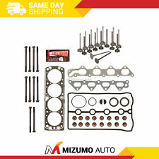 Head Gasket Set Intake Exhaust Valves Fit 98-02 Daewoo Lanos 1.6L DOHC A16