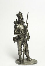 Tin soldier, figure. The Fusilier. 1st temporary Croatian regiment 132 54 mm