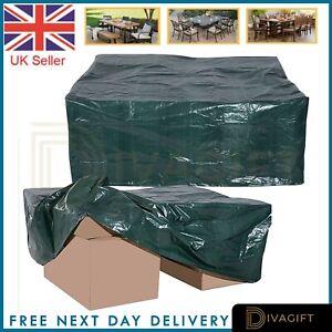 WATERPROOF GARDEN FURNITURE COVER PATIO RATTAN TABLE SEAT HAMMOCK BBQ OUTDOOR UK